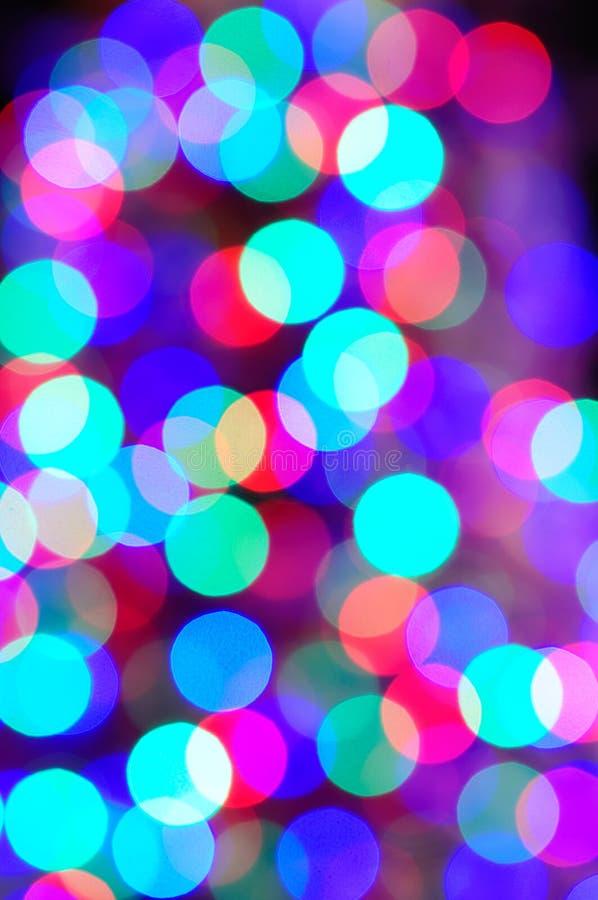 Ελαφριά ανασκόπηση Χριστουγέννων στοκ φωτογραφία με δικαίωμα ελεύθερης χρήσης