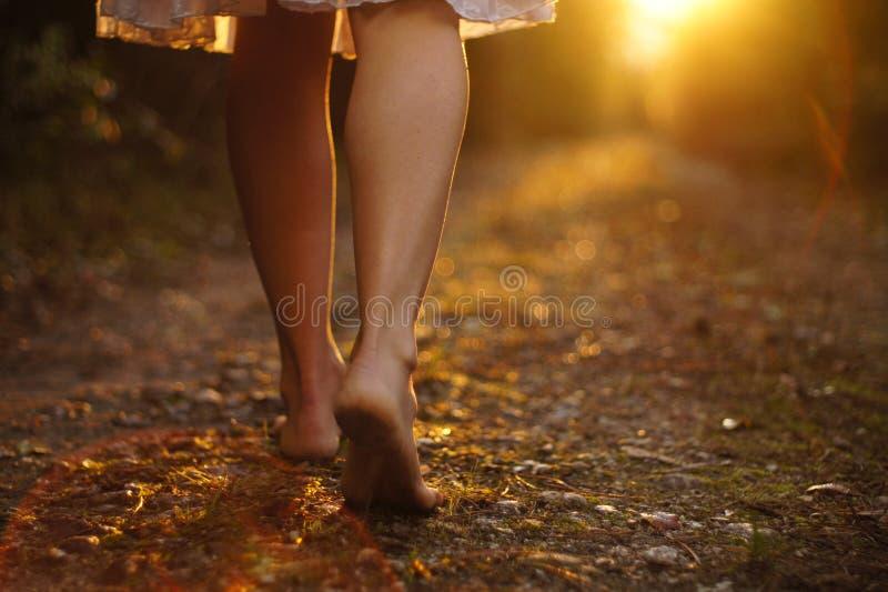ελαφριά βήματα στοκ εικόνες