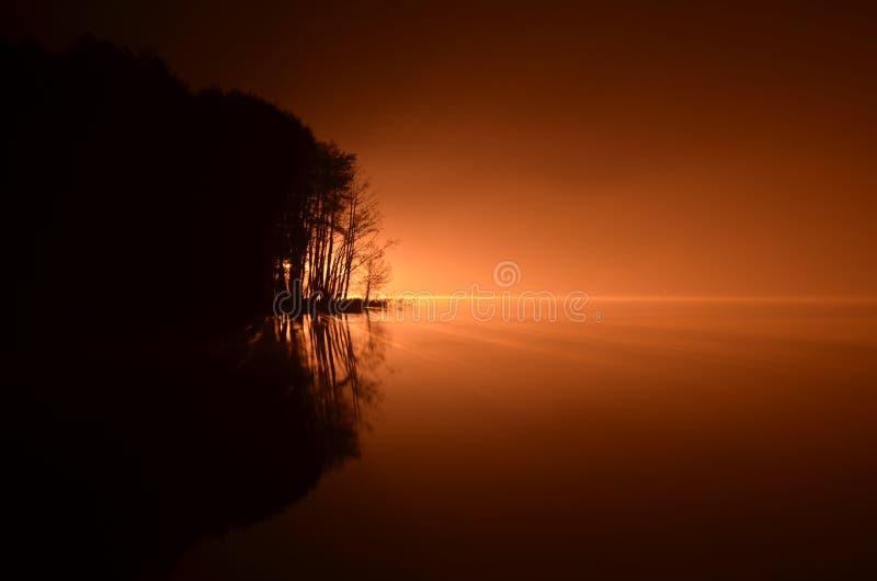 ελαφριά νύχτα στοκ φωτογραφίες με δικαίωμα ελεύθερης χρήσης