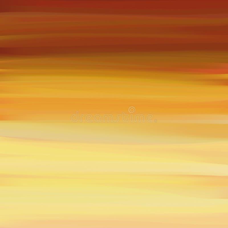 ελαφριά ομίχλη φθινοπώρο&upsi διανυσματική απεικόνιση