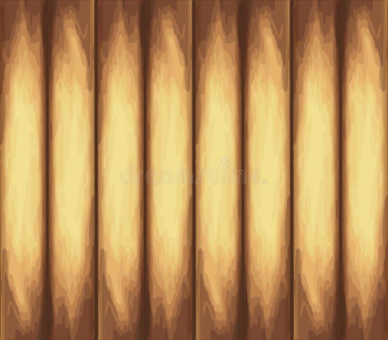 ελαφριά σύσταση ξύλινη Χρυσό υπόβαθρο πινάκων διάνυσμα 10 eps διανυσματική απεικόνιση