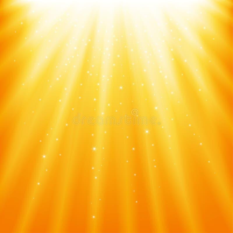 ελαφριές ακτίνες διανυσματική απεικόνιση