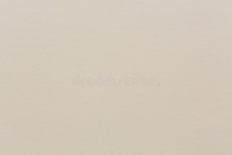 Ελαφρύ μπεζ έγγραφο Watercolor στον ελαφρύ τόνο σεπιών κρέμας στοκ εικόνα