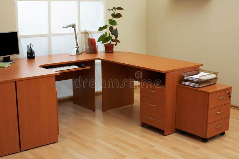 ελαφρύ σύγχρονο γραφείο στοκ φωτογραφία με δικαίωμα ελεύθερης χρήσης