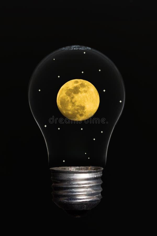 ελαφρύ φεγγάρι στοκ εικόνες