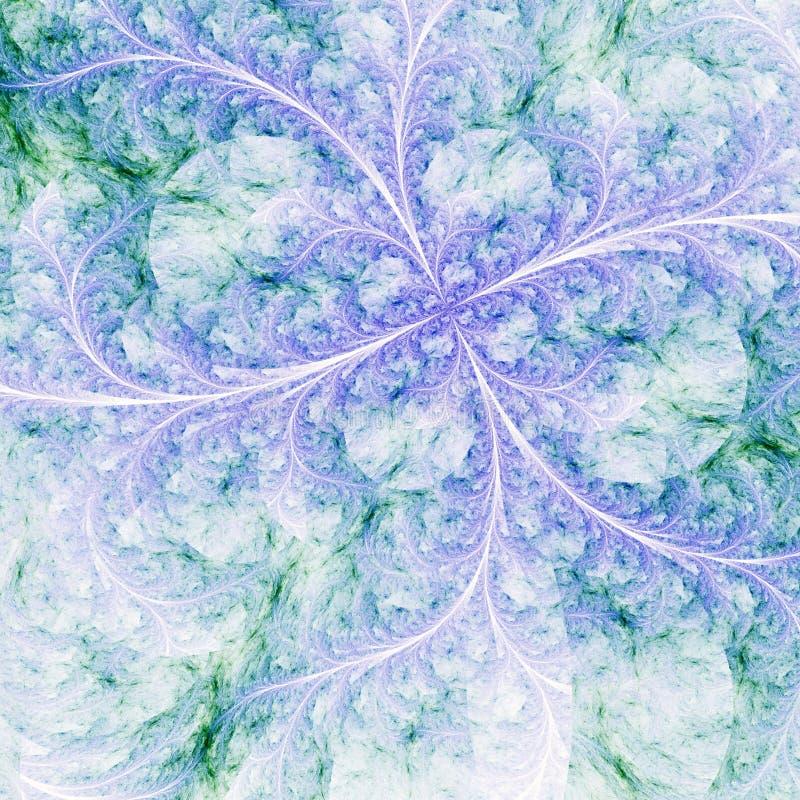 Ελαφρύ fractal λουλούδι απεικόνιση αποθεμάτων