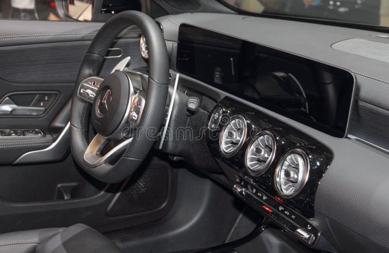 Ελβετία  Γενεύη  Στις 9 Μαρτίου 2019  Brabus Β 25 Mercedes-Benz μια κατηγορία  Η 89η διεθνής έκθεση αυτοκινήτου στη Γενεύη από 7ο στοκ φωτογραφία