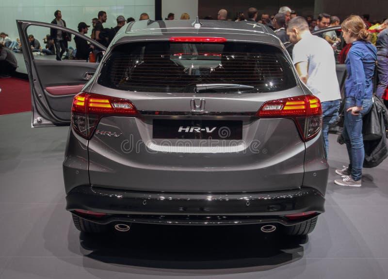 Ελβετία  Γενεύη  Στις 9 Μαρτίου 2019  Honda χρώμιο-Β  Η 89η διεθνής έκθεση αυτοκινήτου στη Γενεύη από 7ο σε 17ο του Μαρτίου του 2 στοκ φωτογραφίες με δικαίωμα ελεύθερης χρήσης