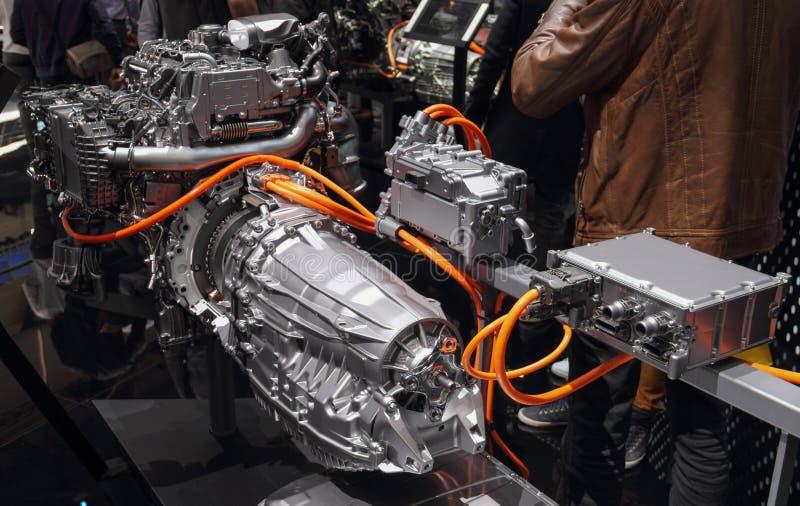 Ελβετία  Γενεύη  Στις 9 Μαρτίου 2019  Mercedes-Benz 4 βούλωμα diesel κυλίνδρων στο υβρίδιο  Η 89η διεθνής έκθεση αυτοκινήτου στη  στοκ φωτογραφία με δικαίωμα ελεύθερης χρήσης