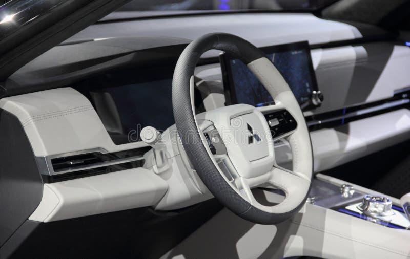 Ελβετία  Γενεύη  Στις 9 Μαρτίου 2019  Tourer της Mitsubishi Engelberg  Η 89η διεθνής έκθεση αυτοκινήτου στη Γενεύη από 7ο σε 17ο στοκ φωτογραφίες