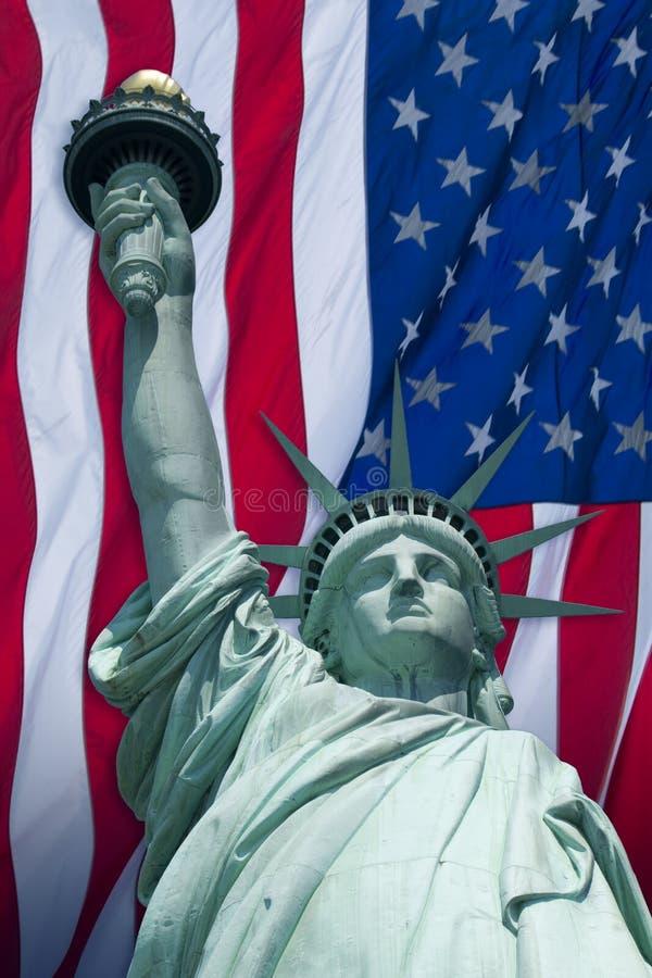 ελευθερία σημαιών στοκ εικόνα με δικαίωμα ελεύθερης χρήσης