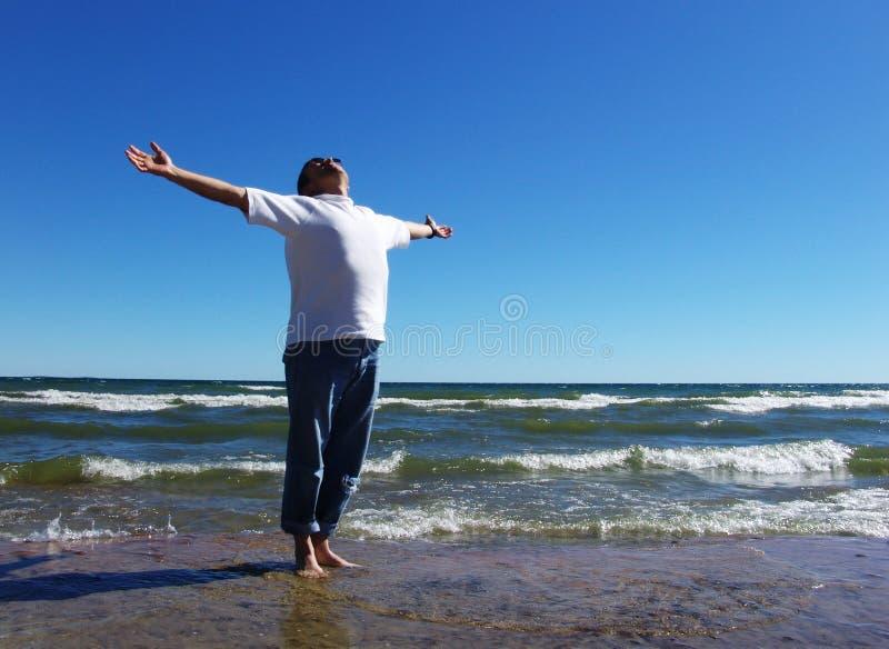 ελεύθερη θάλασσα στοκ φωτογραφία