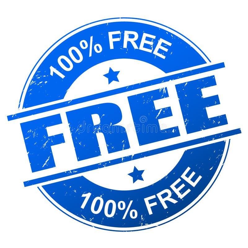 Ελεύθερο διάνυσμα γραμματοσήμων διανυσματική απεικόνιση