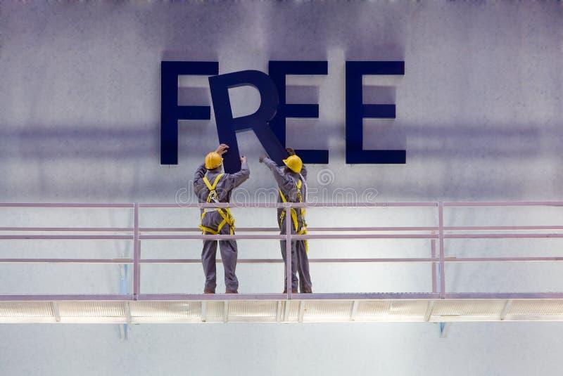 ελεύθερο σημάδι στοκ φωτογραφία με δικαίωμα ελεύθερης χρήσης
