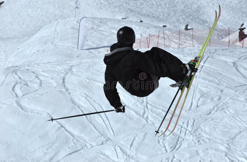 ελεύθερο σκι γύρου αλτών στοκ εικόνες