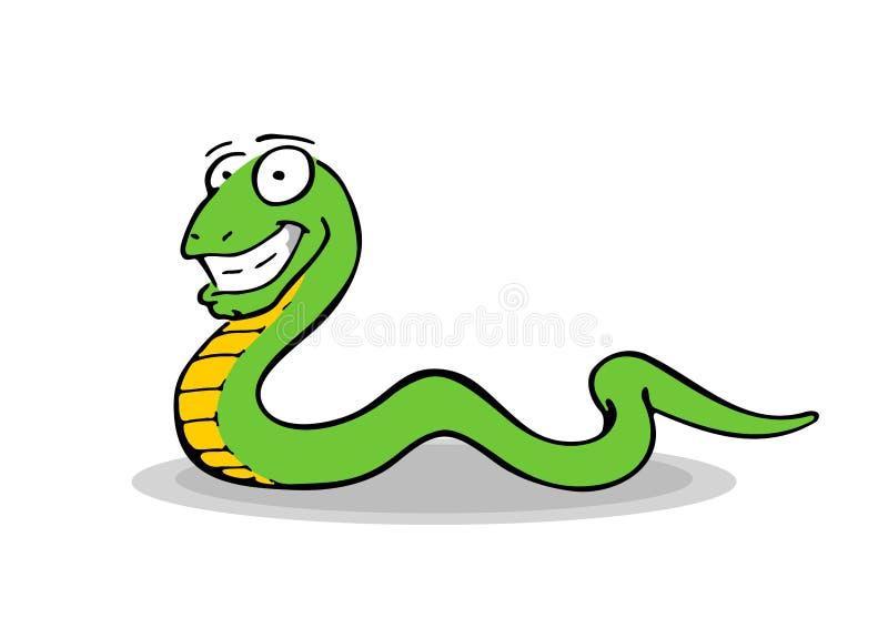 Ελεύθερο σχέδιο ενός χαμόγελου, σερνμένος φίδι στοκ φωτογραφία με δικαίωμα ελεύθερης χρήσης