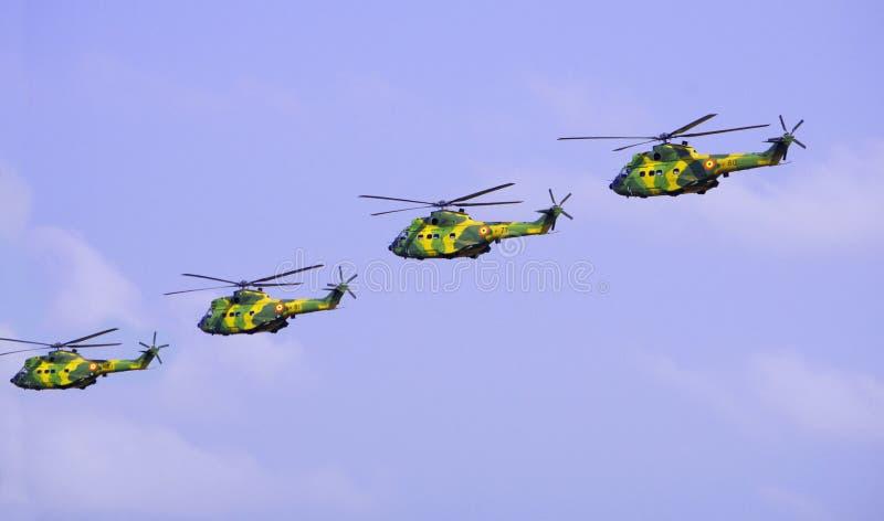 Ελικόπτερα στρατού στοκ εικόνες