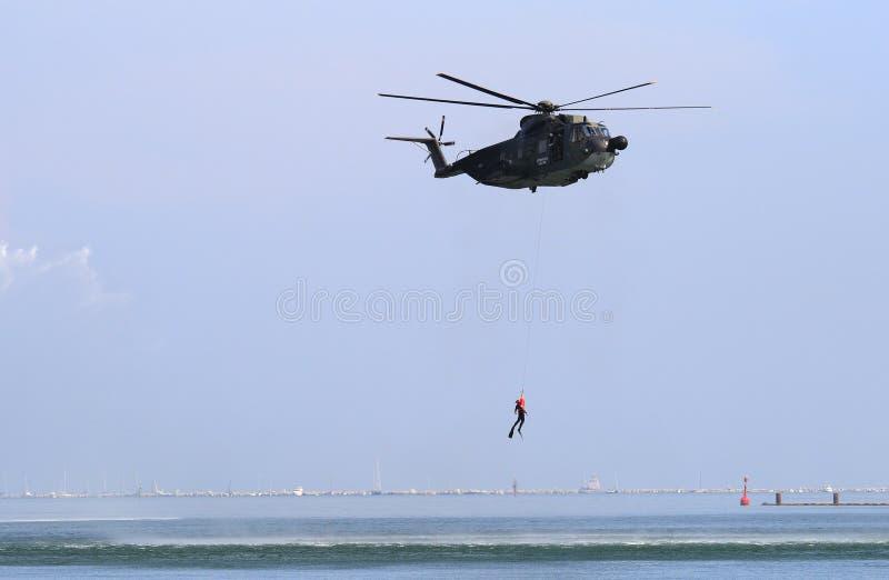 ελικόπτερο στρατιωτικό στοκ φωτογραφία