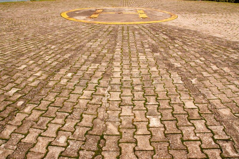 Ελικόπτερο χώρων στάθμευσης στοκ εικόνες με δικαίωμα ελεύθερης χρήσης