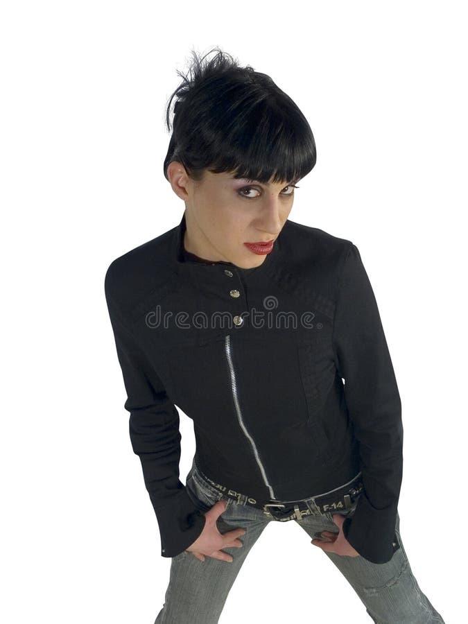 ελκυστικές νεολαίες brunette στοκ εικόνα