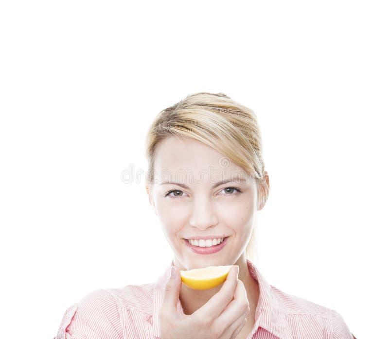 ελκυστικές ξανθές υγι&epsilon στοκ εικόνες