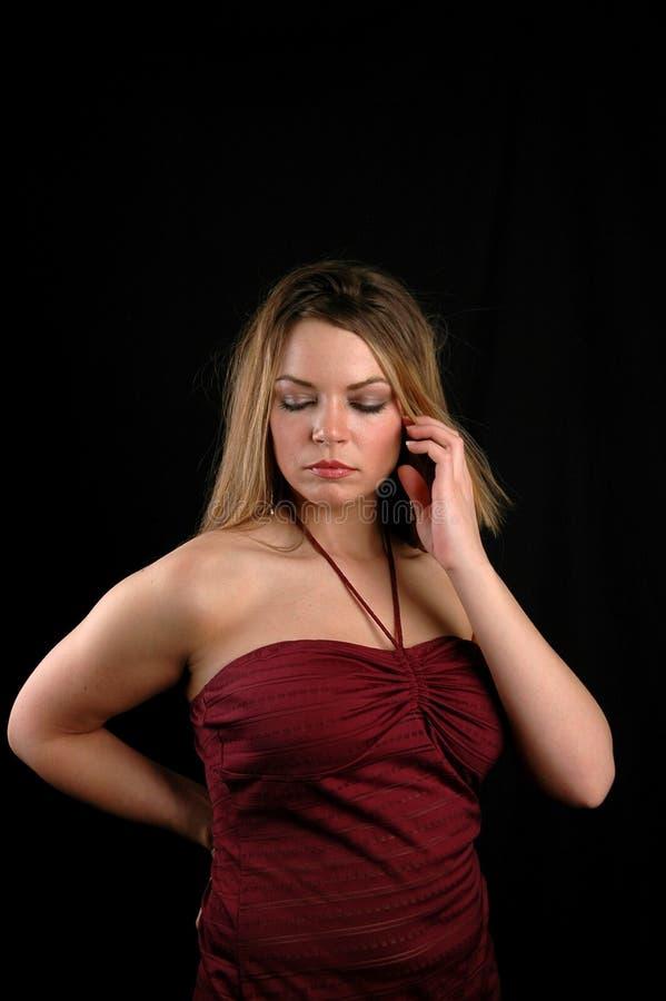 ελκυστική γυναίκα στοκ εικόνα