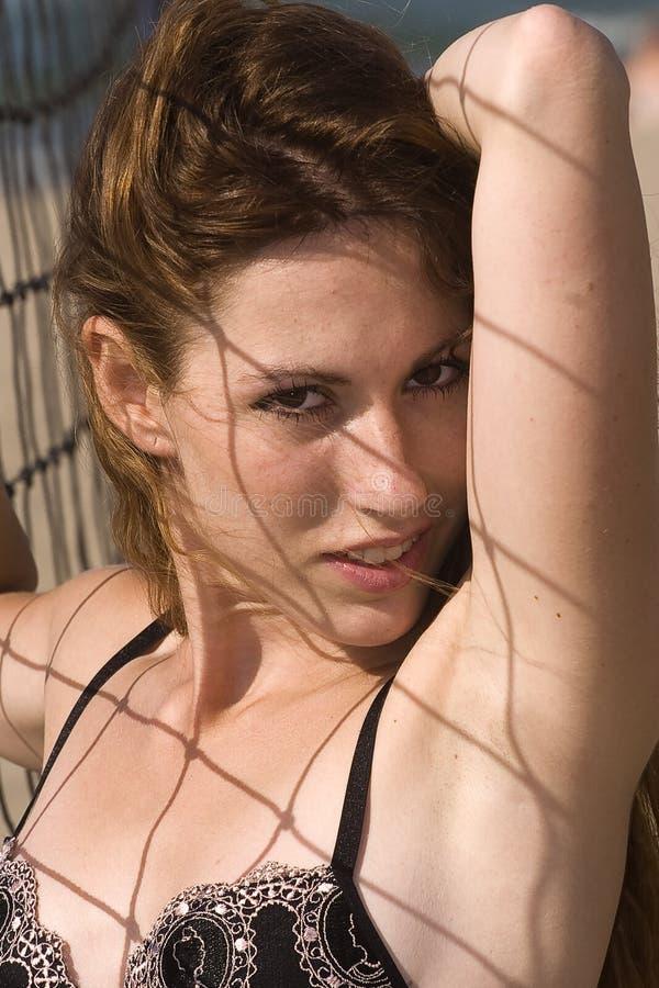ελκυστική διευθυνμένη &kap στοκ φωτογραφίες με δικαίωμα ελεύθερης χρήσης