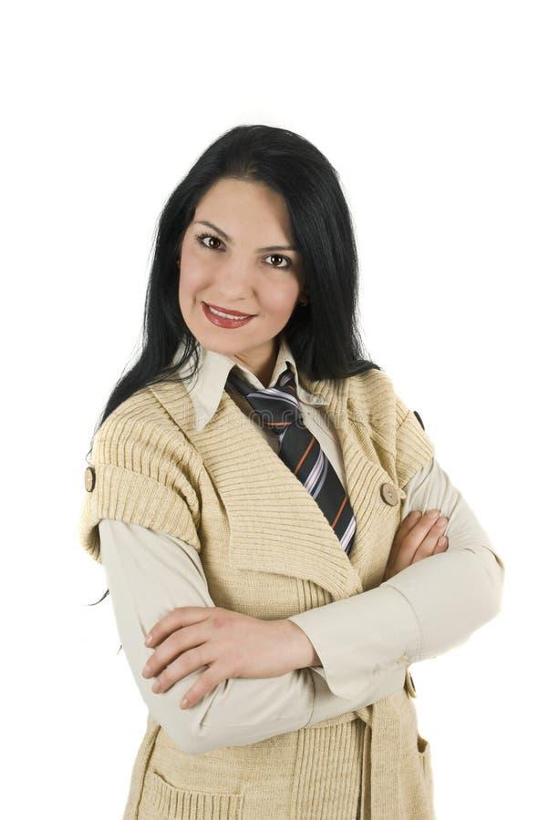 ελκυστική επιχειρησιακή γυναίκα στοκ φωτογραφία με δικαίωμα ελεύθερης χρήσης