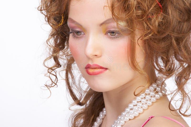 ελκυστικός αποτελέστ&epsil στοκ εικόνες με δικαίωμα ελεύθερης χρήσης