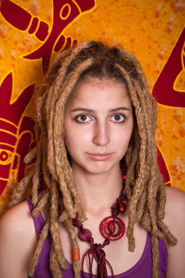 ελκυστικός θηλυκός έφη&beta στοκ φωτογραφία με δικαίωμα ελεύθερης χρήσης