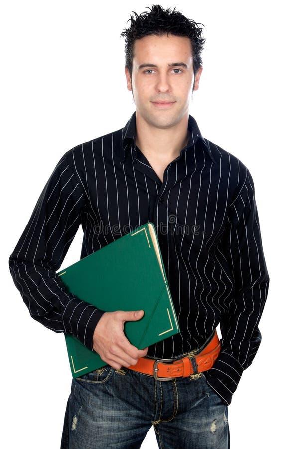 ελκυστικός σπουδαστή&sigma στοκ εικόνα με δικαίωμα ελεύθερης χρήσης