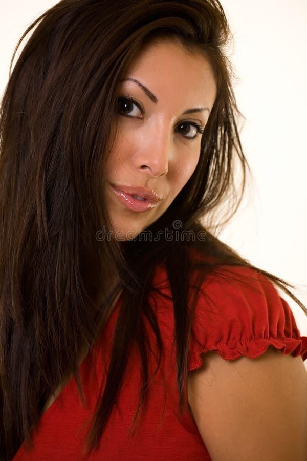 ελκυστικός στενός επάνω στοκ φωτογραφία με δικαίωμα ελεύθερης χρήσης