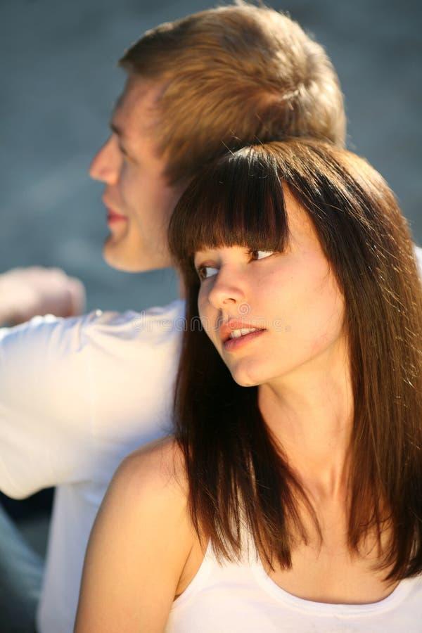 ελκυστικό ζεύγος κινημ&al στοκ φωτογραφίες με δικαίωμα ελεύθερης χρήσης