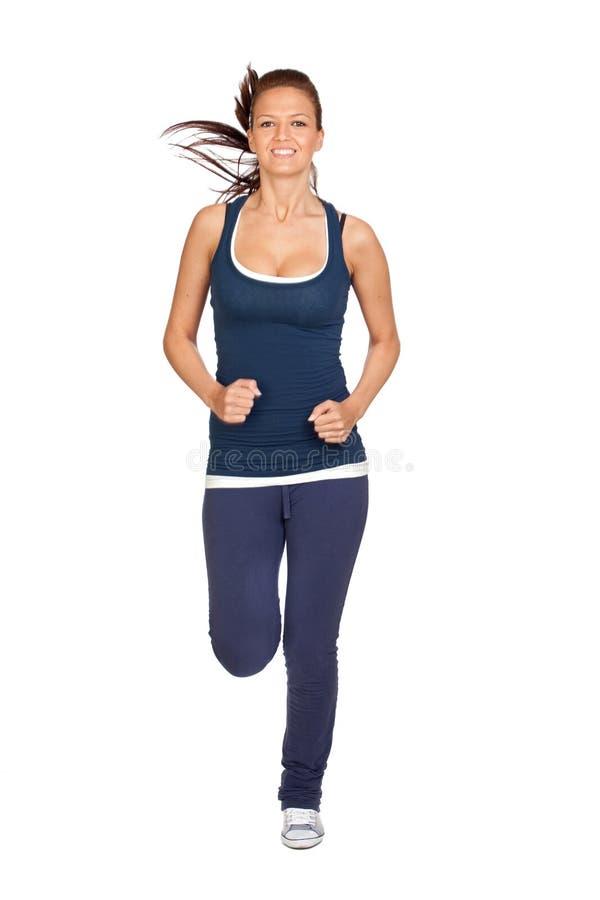 ελκυστικό τρέξιμο κοριτ&si στοκ φωτογραφίες με δικαίωμα ελεύθερης χρήσης