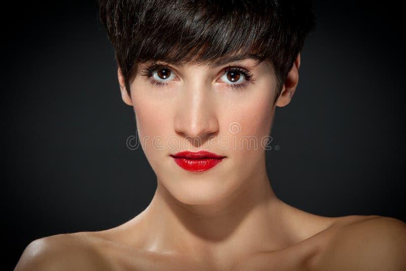 Ελκυστικό Brunette στοκ εικόνες με δικαίωμα ελεύθερης χρήσης