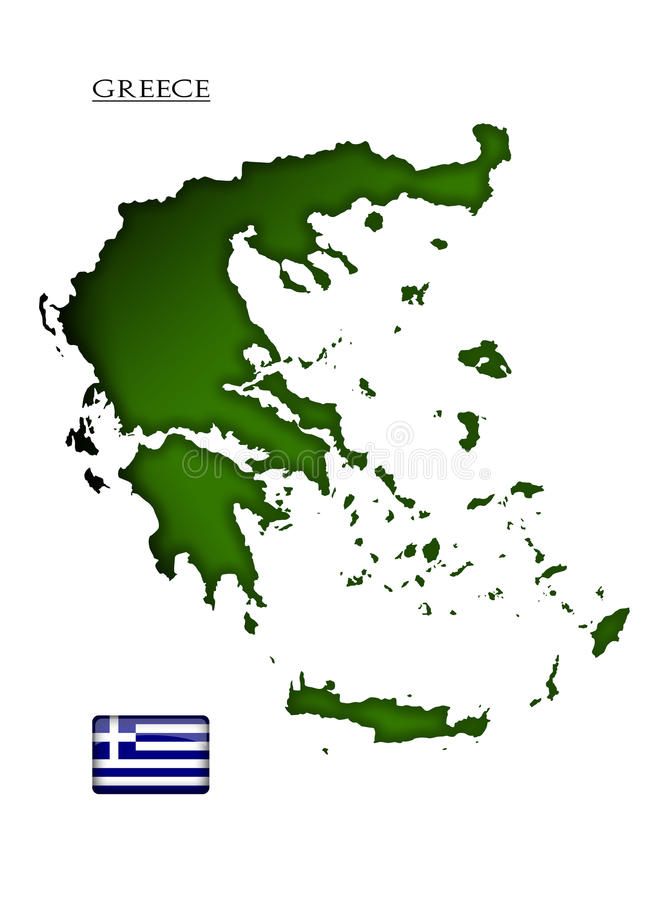 Ελλάδα διανυσματική απεικόνιση