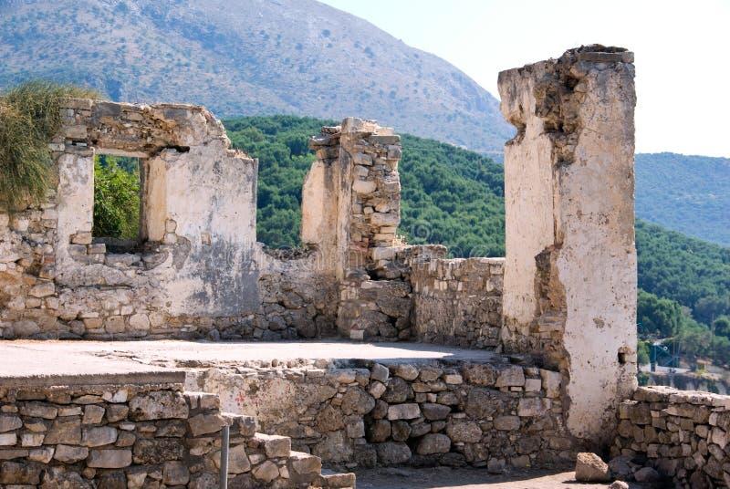 ελληνικές καταστροφές στοκ εικόνα με δικαίωμα ελεύθερης χρήσης