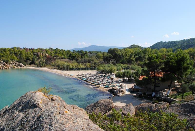Ελληνική ακτή στοκ εικόνες