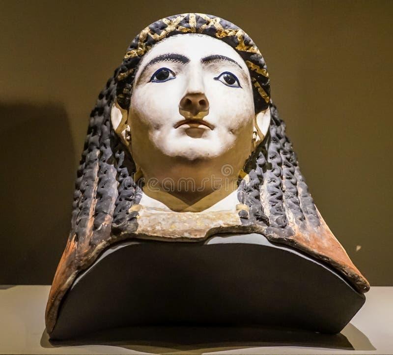 Ελληνική επιρροή στην Αιγυπτιακή μούμια στοκ εικόνες