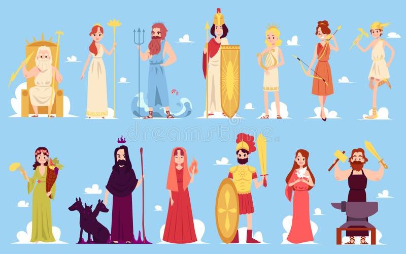 Ελληνική θεά απεικόνιση αποθεμάτων