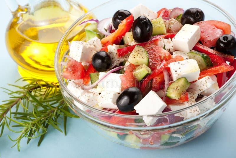 ελληνική σαλάτα στοκ εικόνα