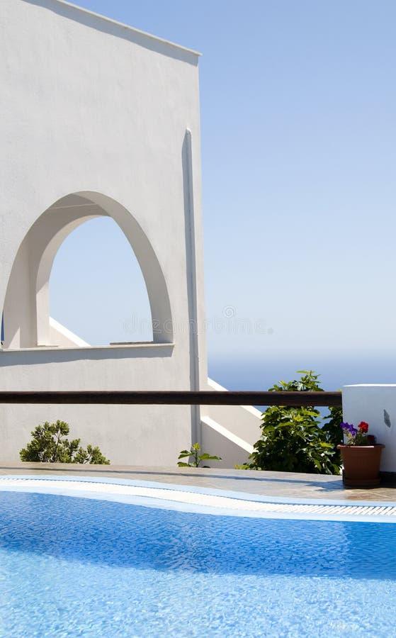 ελληνική όψη θάλασσας λι&m στοκ φωτογραφίες με δικαίωμα ελεύθερης χρήσης
