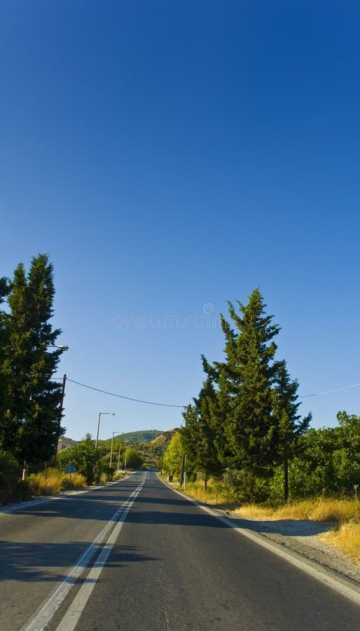 ελληνικοί δρόμοι στοκ εικόνες