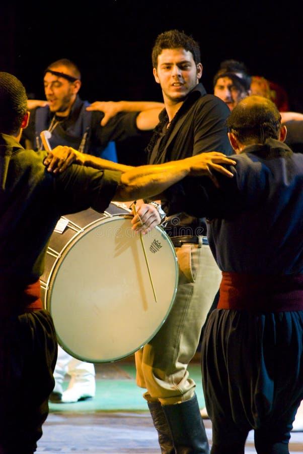 Ελληνικοί χορευτές στοκ εικόνες