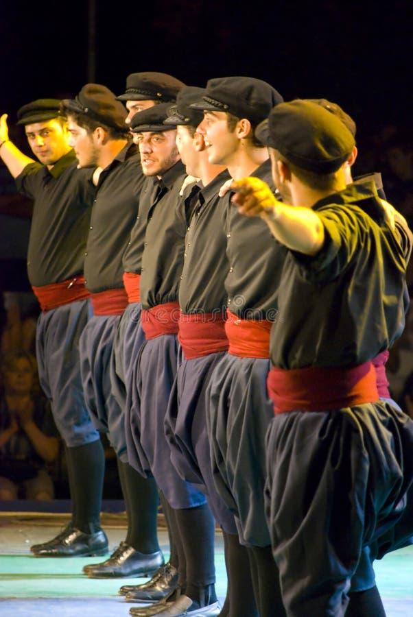 Ελληνικοί χορευτές στοκ εικόνα με δικαίωμα ελεύθερης χρήσης