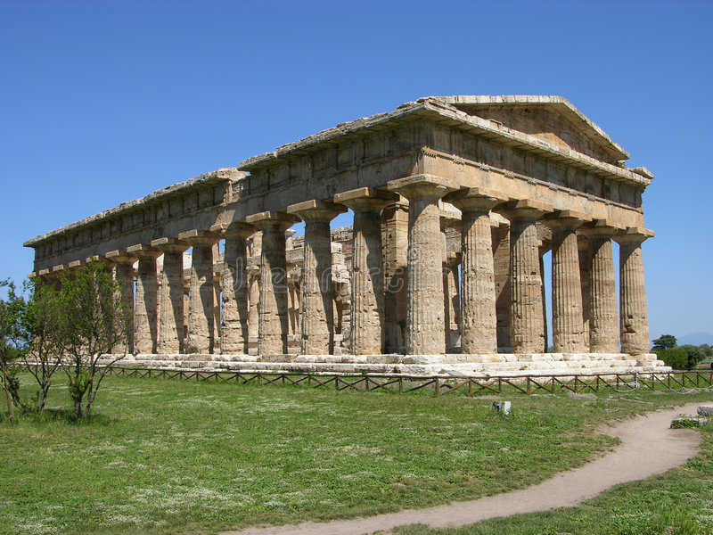 ελληνικός ναός στοκ φωτογραφίες