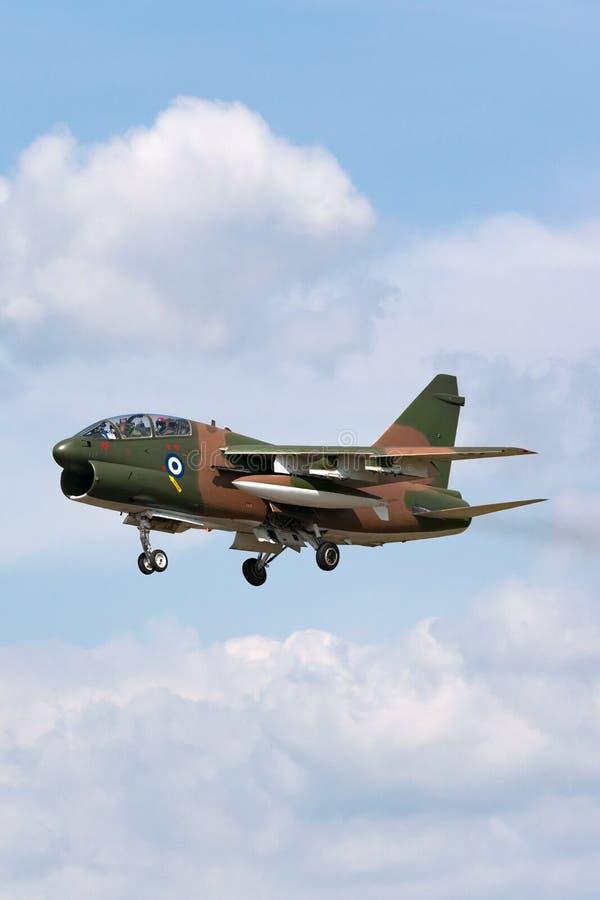 Ελληνικός πειρατής ΙΙ Πολεμικής Αεροπορίας LTV Πολεμικής Αεροπορίας ελληνικός TA-7C αεροσκάφη επίθεσης στοκ εικόνες