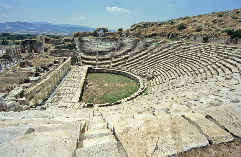 ελληνικό θέατρο στοκ φωτογραφίες με δικαίωμα ελεύθερης χρήσης