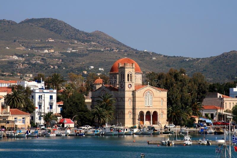 ελληνικό νησί aegina στοκ φωτογραφία