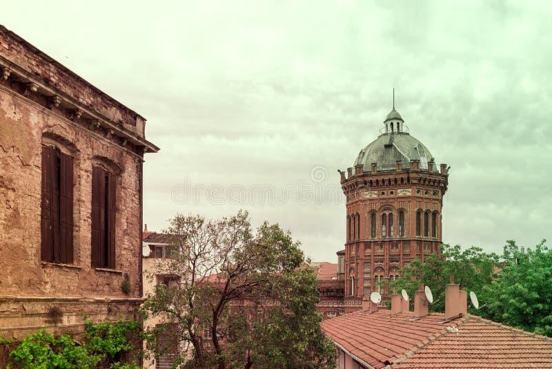 Ελληνικό ορθόδοξο κολλέγιο Phanar γνωστό στα ελληνικά ως μεγάλο σχολείο στοκ φωτογραφία